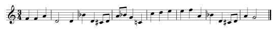 The altered version of the Alicia & Julio Theme.