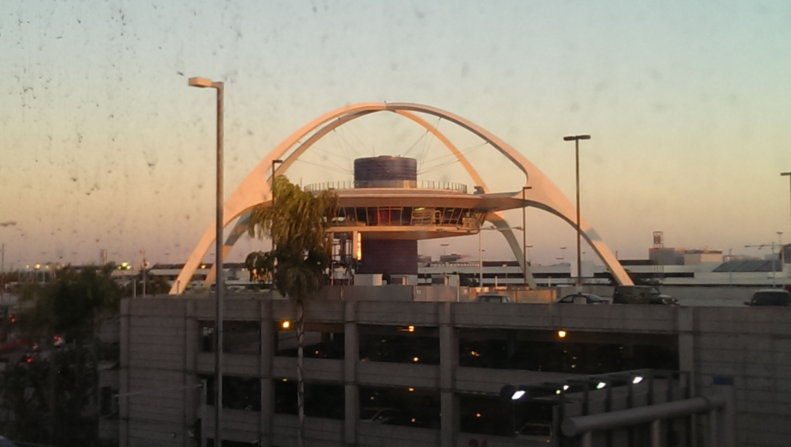 Obligatory photo of DS9-- I mean, LAX.
